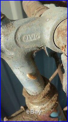 1 ancien VÉLO COURSE MOTOBECANE garde boue LEFOL, moto, cyclo, no émaillée