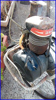 1 ancien solex 3800 à restauré, usine, vintage, industriel, scooter, moto