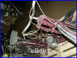 1 ancienne MOBYLETTE A. SUTTER ABG CHTEAUROUX scooter, moto, cyclo, no émaillée