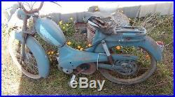 1 ancienne MOBYLETTE BB PEUGEOT GRIFFON 1957, scooter, moto, cyclo, no émaillée