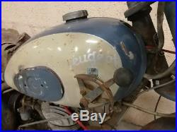 125 PEUGEOT type 55 TA 1954 en état d'origine barn find livrable