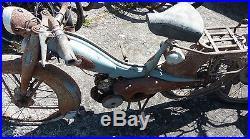 2 anciennes mobylettes bleu au 75 1956 scooter moto cyclo motobecane moto de collection pi ces. Black Bedroom Furniture Sets. Home Design Ideas