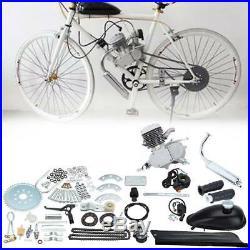 2 temps 80cc Vélo Motorisé Essence Moteur à Gaz Kit Pour 26-28 Vélos
