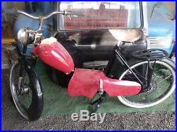 ANCIENNE MOBYLETTE GENTIL Z6 1956, scooter, cyclo, no émaillée