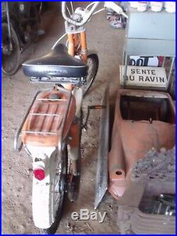 ANCIENNE MOBYLETTE HONDA AMIGO PF 50 1970 scooter, moto, cyclo, no émaillée