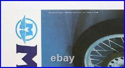 Affiche Originale Motobecane 500 3 Cyl Injection 1973-74 Moto 350 Seventies
