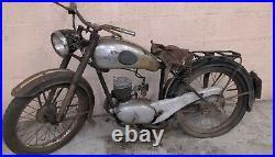 Alcyon 125 type 35 1952 en état d'origine sortie de grange barn find livrable