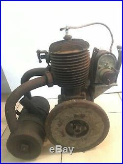 Ancien Moteur de Moto NINON Moteur Train Moto début XX ème Motocycle