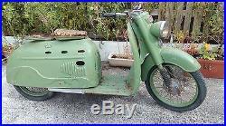 Ancien Scooter ancien scooter manurhin sm 75 1950, loft, usine, vintage, industriel