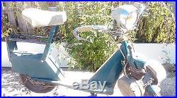 Ancien SOLEX MICRON 1968, loft, usine, vintage, industriel, scooter, moto