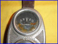 Ancien accessoire tableau de bord moto TERROT, an. 30, HST 350cc, 500cc, O. S