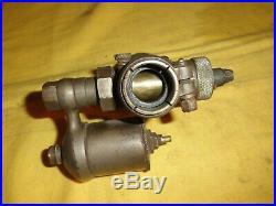 Ancien carburateur GURTNER M20D en bronze nickelé, terrot, peugeot, monet goyon