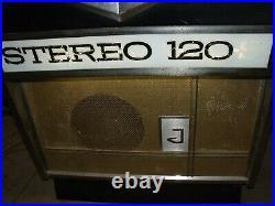 Ancien juke box JUPITER 120 1960, bistrot, scooter, moto, cyclo, no émaillée