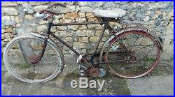 Ancien mobylette CYCLO A GALET moteur MOSQUITO, scooter, moto, cyclo