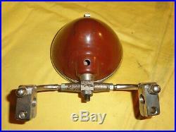 Ancien petit phare de moto, BMA, peugeot, alcyon, terrot, motobécane, radios