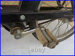 Ancien rare solex enfant type F4 vieux jouet mini velo solex motobecane