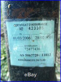 Ancien solex S 3800 noir de 1966 à restaurer