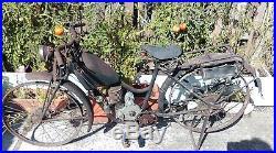 Ancienne MOTO MANDILLE ET ROUX 1932, loft, usine, vintage, industriel, solex