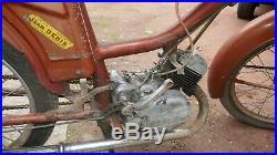 Ancienne mobylette moto FLANDRIA SPORT 4 1964 a restaurer