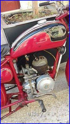 Ancienne moto koehler escoffier, des années 40, collection