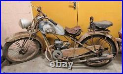 Automoto 125 AS sortie de grange moto de collection barn find parallelograme