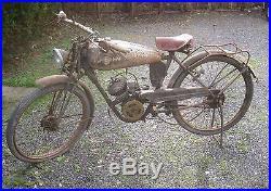 BMA new map baby fin des années 40 moto de collection