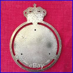 Badge calandre Automobile Club de Monaco des années 50 ACM