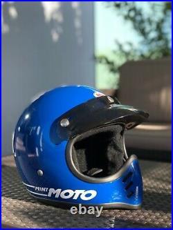 Bell minimoto 52 New old stock helmet moto3 motostar