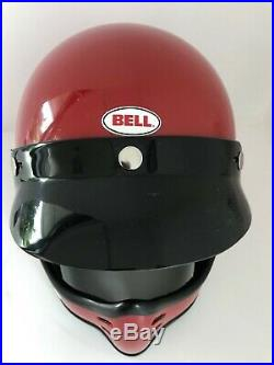 Bell original vintage Mini Moto helmet motorcycle classic 6 3/4 54(Moto3 500TX)