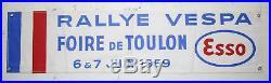 Brassard, Rallye VESPA foire de Toulon 6 & 7 juin 1959 / 11.5 x 48 cm