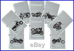 Briquet de Tempête avec Véritable Gravure Moto Modèles Marque Kawasaki
