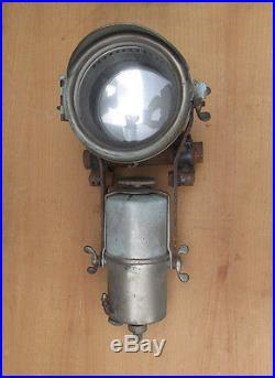 Cicca Phare Acetylene Moto Ancien Vintage Motorcycle Headlight
