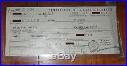 Cadre complet avec plaque et carte grise motoconfort U2C = motobecane 175 z2c
