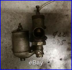 Carburateur bronze AMAL 22 peugeot terrot monet goyon 1920 1930