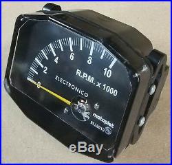 Compte-tours Motoplat 10000 RPM 4 temps drehzahlmesser Krober style tacómetro
