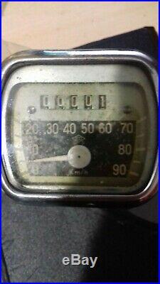 Compteur d'origine Veglia pour ACMA -Veglia Original Speedmeter NOS