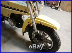 Cyclomoteur mbk mobyx x7 couleur jaune, très bon état, complet et d'origine