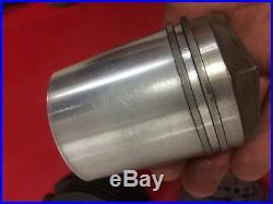 Cylindre, piston culasse, 125 cc, Vespa Acma 1955, 1956, 1957