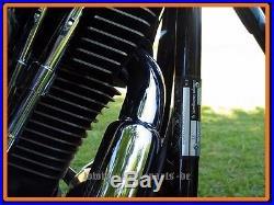 Echappement pour Harley Davidson Softail Modèle Short Shooter