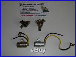Gt 125 Suzuki Kit 2 Rupteurs + 2 Condensateurs Neuf