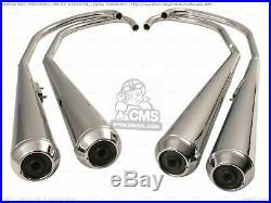 HONDA CB 500 550 Four K3 Pots d'échappement répliques 01800404671