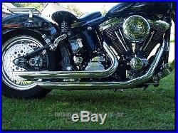 Installation du pot d'échappement Harley Davidson Softail Modèle Short Cut