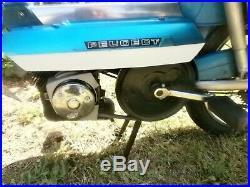 J'y Etais Aux Millevaches Cyclomoteur Peugeot 104 Vn, Mobylette. Video
