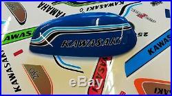 Kawasaki 750 h2 72, demi réservoir fibre, kawasaki 750 h2 72, half fiber tank