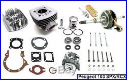 Kit Moteur Cylindre culasse joints Vilebrequin Carter PEUGEOT 103 RCX / SPX