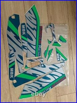 Kit déco complet Mbk 51 magnum racing pacific blue