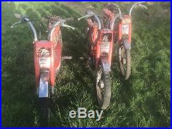 Lot 3 mobylettes Peugeot 103