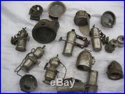 Lot de phares acétylène, velo ancien