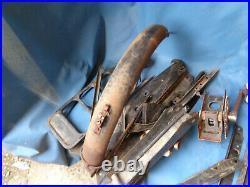 Lot de pieces SOLEX 3800 2000 fourche boite outil porte bagage cadre pedalier