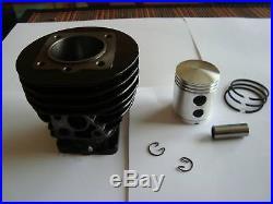 Lot neuf cylindre + piston + segments solex fab. Europe